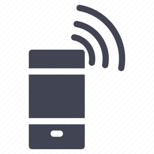 mobile, phone, smartphone, technology, wifi, wireless icon