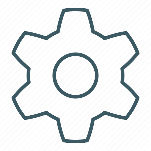 cogwheel, engineering, gear, industry, options, settings, technology icon