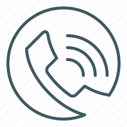 call, communication, phone icon