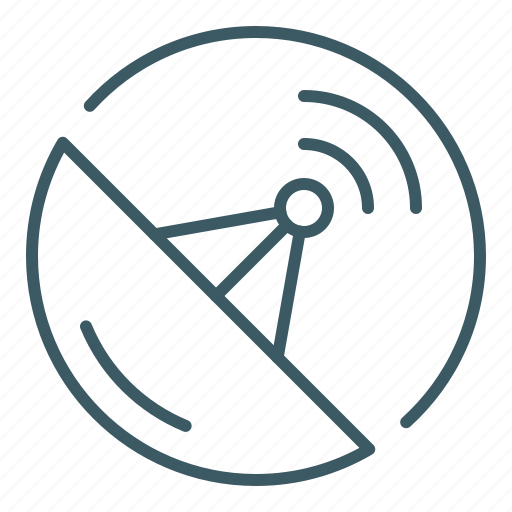 antenna, broadcasting, radar, satellite, satellite dish, sensor, signal icon