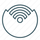 signal, source, wifi icon