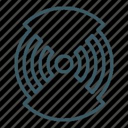 broadcasting, signal, source, wifi icon