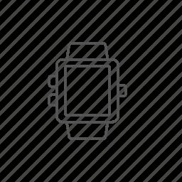alarm, clock, device, gadget, portable, smartwatch, technology icon