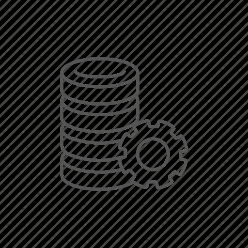 archive, computer, data, hardware, server, settings, storage icon