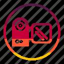 camera, tecknology & multimedia icon