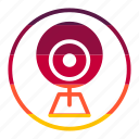 camera, eye, tecknology & multimedia icon