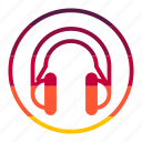 headphone, tecknology & multimedia icon