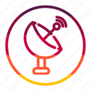 radar, tecknology & multimedia icon