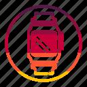 smart, tecknology & multimedia, watche icon