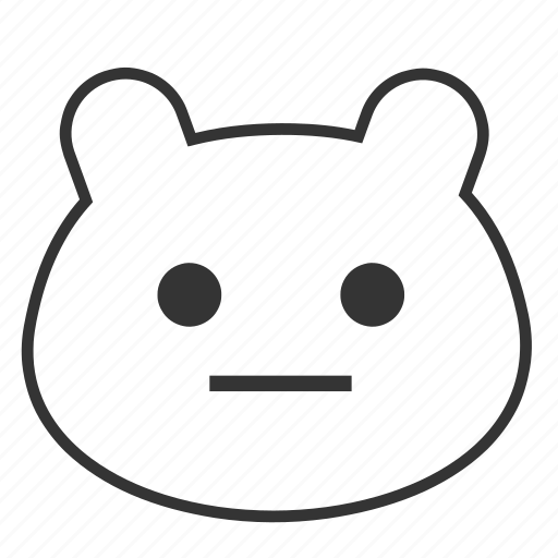 animals, bear, emojis, emoticon, smiley, teddybear icon