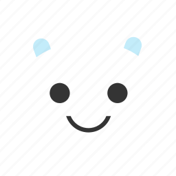animals, bear, emojis, emoticon, smiley, teddybear icon