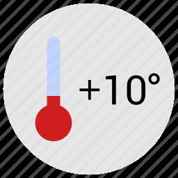 cold, condition, temperature, weather icon