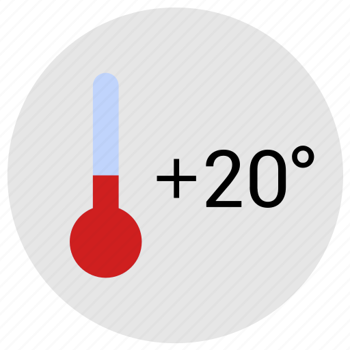 comfort, condition, temperature, weather icon
