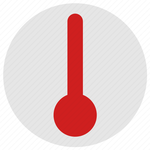 condition, extra, hot, temperature, thermometer icon