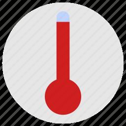 condition, hot, temperature, thermometer icon