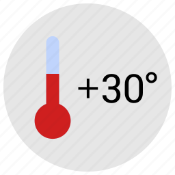 condition, hot, temperature, weather icon
