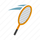 ball, hit, isometric, player, racket, strike, tennis icon