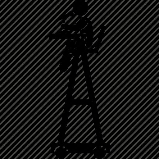 Chair, highchair, judge, sitting, tennis, umpire, referee icon - Download on Iconfinder