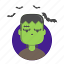 fear, frankenstein, halloween, monster icon