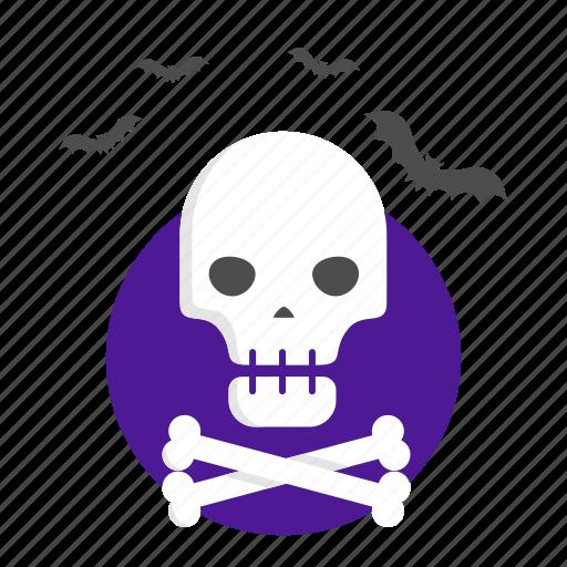 bones, death, halloween, pirates, skull icon