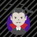 bat, dracula, halloween, nosferatu, vampire icon