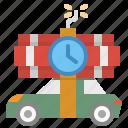 bomb, car, carbomb, terrorism, vehicle icon