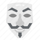 anonymous, fawkes, guy, hacker, mask icon