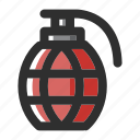 army, bomb, grenade, military, terrorism, war icon