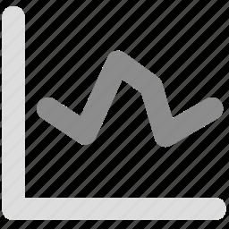 analysis, grap, report, statistics icon
