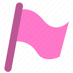 document, flag, important, mark, office icon