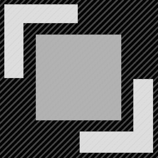 arrange, direction, layer, location, sorts icon