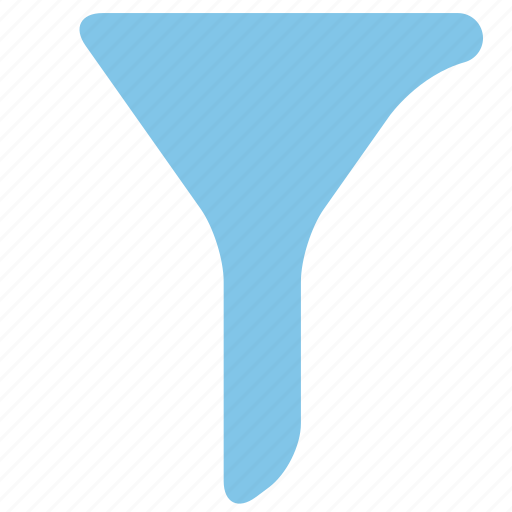 filter, funnel, office, select icon