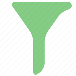 filter, funnel, office, select, tunnel icon