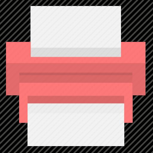 document, office, print, printer, printing, text icon
