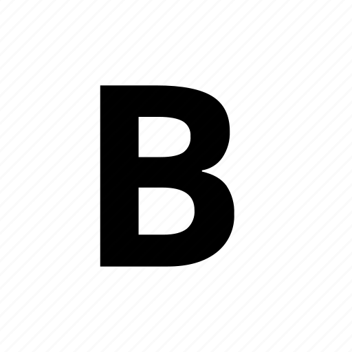 bold, format, text, text edit icon