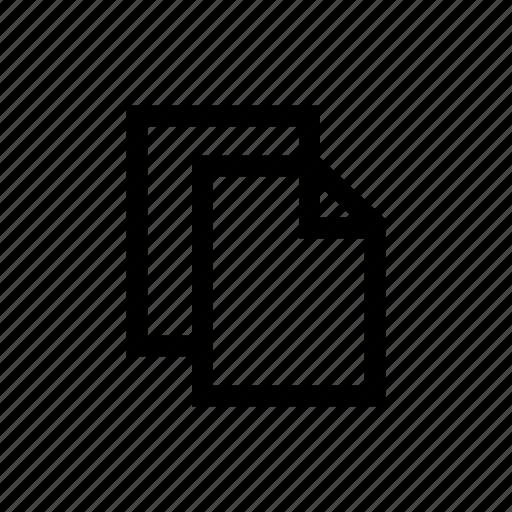 clipboard, copy, duplicate, paste, text edit icon