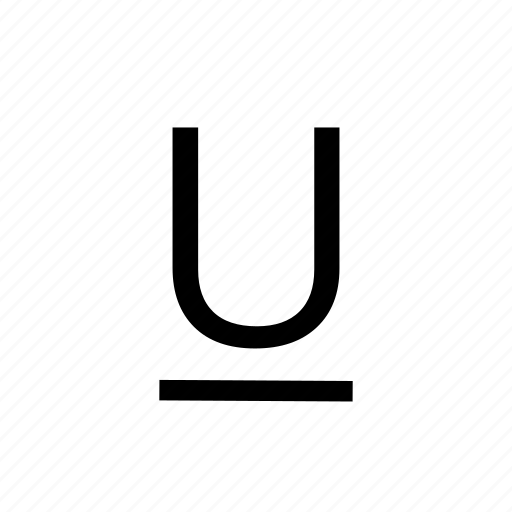 format, text edit, textedit, underline icon