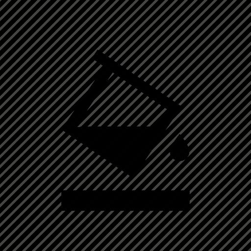 bucket, fill, paint, text edit, tool icon