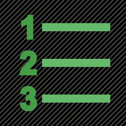 information, label, list, number, option, set, tag icon