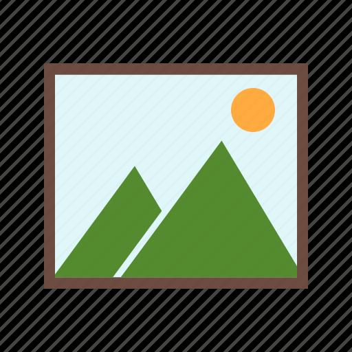 frame, idea, image, images, information, insert, photo icon