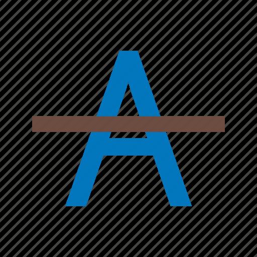 alphabets, cancel, remove, report, words, work, write icon
