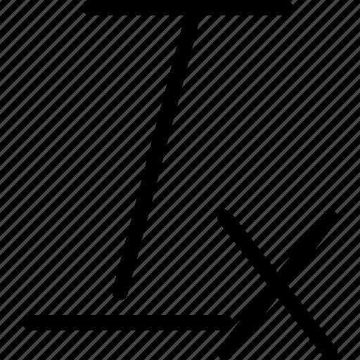 cancel, clear, editor, formatting, text icon
