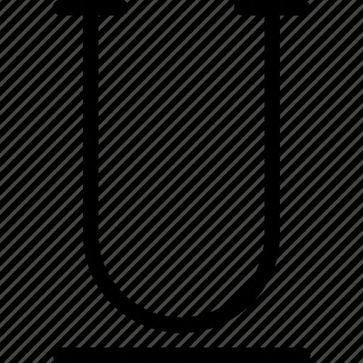 Underline, document, file, format, text icon - Download on Iconfinder