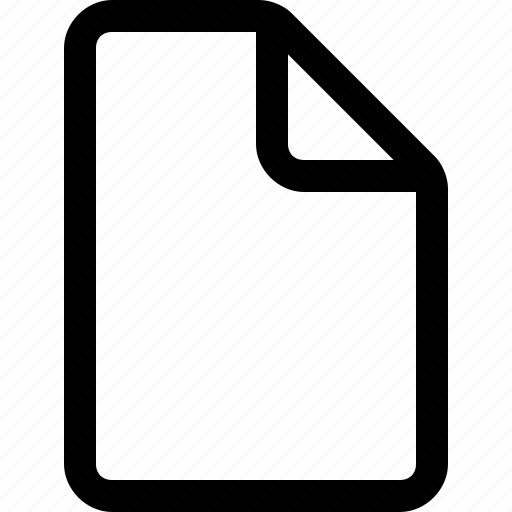 blank, document, file, new, text icon