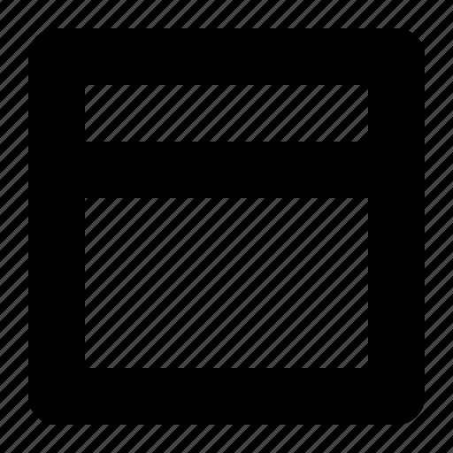 editor, header, sign, text icon