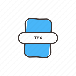 extension, paper, tex, tex icon, text icon