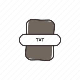 note, text, txt, txt extension, txt file, txt icon icon