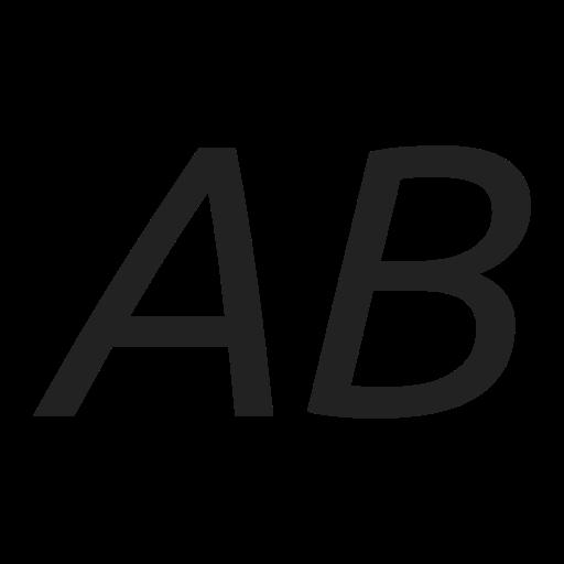 italic, style, text icon