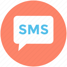 chat balloon, communication, message, sms, speech balloon icon
