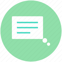 conversation, message, speech bubble, text message, texting icon